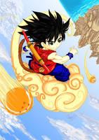 Fanart Goku by Archiri