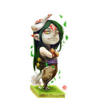 Chibi guardian by Archiri