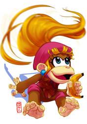 Dixie Kong by Archiri