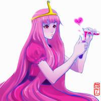 Princess Bonnibel Bubblegum of the Candy Kingdom by Archiri