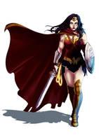 Wonder woman by Archiri