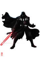 Darth Vader by Archiri