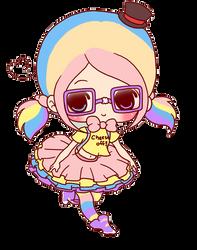 Kawaii doll png by FujoshiMostacho