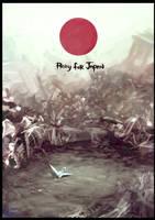 Pray for Japan by KaelNgu