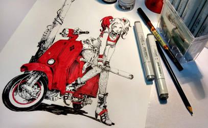 Harley Quinn by KaelNgu