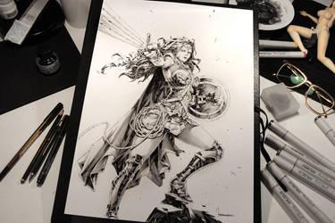 Princess Diana of Themyscira by KaelNgu