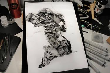 Hulkbuster by KaelNgu