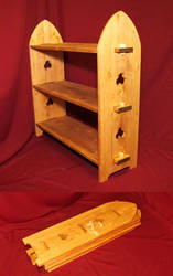 Collapsible shelf 14th-century style by wyverex