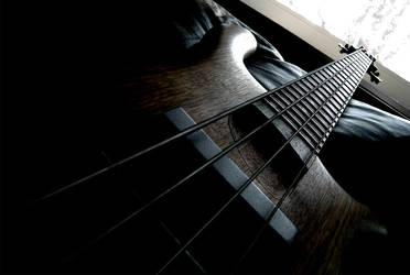 bass guitar by wyverex