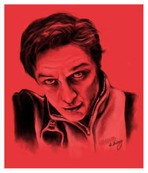 Charles Xavier by Slorie
