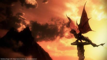 Ouroboros Dragon by Steppenlovo