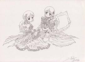 Angel Gemini by Dark-Sakura
