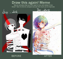 Draw It Again meme by Alie-Reol
