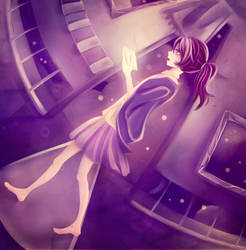 Hanging house by Alie-Reol