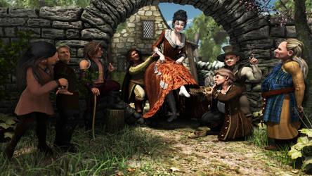 Snow White and the Seven Dwarfs by GrandSACHI