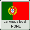 Portugese Level - None (Language Stamp) by MissWellert