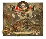 Tesla's Death Ray by Keithwormwood