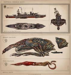 Navies by Keithwormwood