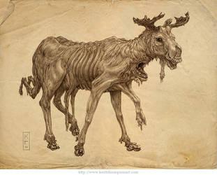 Nuked Moose by Keithwormwood