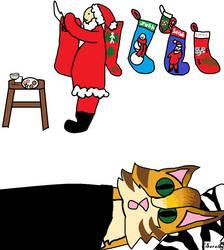 Santa! by GingerTheSuperJaguar