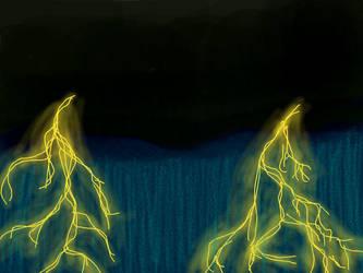 Thunderstorm Practice by GingerTheSuperJaguar