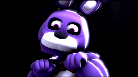 The Face of Cuteness! (Kawaii Bonnie Wallpaper) by gold94chica