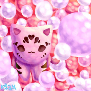 Bubblegum Tiger by Katzun