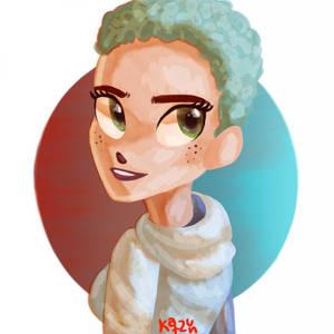 Halsey. Cute by Katzun