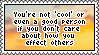 'i liek, dont even care if i hurt or offend u lel' by 2centstamps