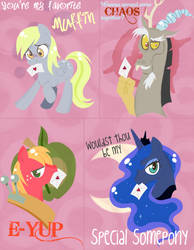 MLP Valentines by Musapan