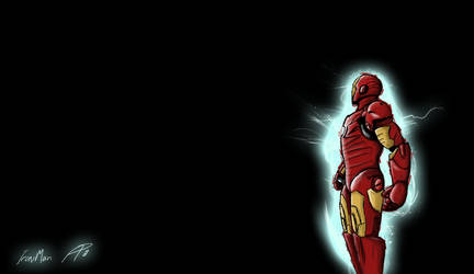 Iron Man No Back by TwinFlow