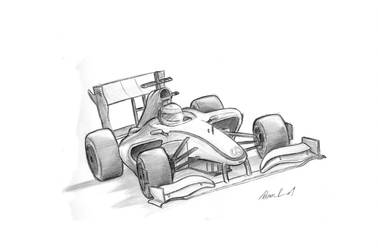 Lewis Hamilton MP-24 Sketch by TwinFlow