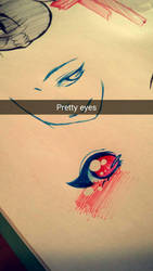 Anime Eye Sketch? by drawwithme123