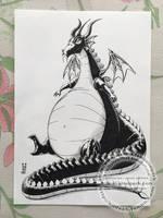 Inktober 2017 - Day 16 - Fat by SuiseiKillfaeh