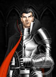 Pre-vampiric Strahd von Zarovich by SuiseiKillfaeh