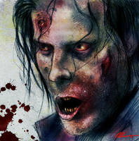 Post-It Note Zombie 2 by CSM-101