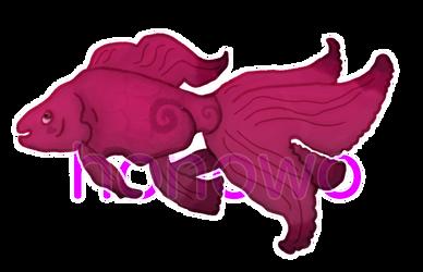 Custom Goldfish (Prize for Cheeka41Aj) by hnw-adopts