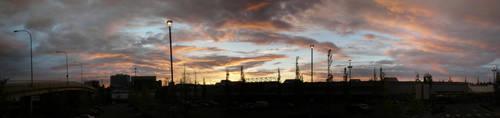 Sunset Over Everett by Mauser712
