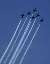 Patriots Jet Team by Mauser712