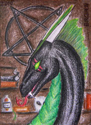 ACEO - Crateris by Ergien