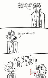 So much for comeong back.. by Showbiz-pizza18