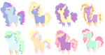 Fluffy Pastel Inky Breedable Adopts- CLOSED by Cashmere-Cuddles