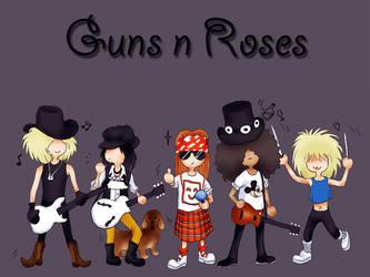 Lil Guns n Roses by clerichan