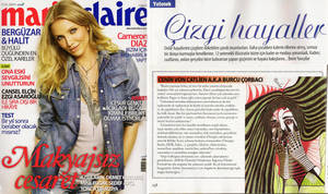 Marie Claire interview - 2009 by selfregion