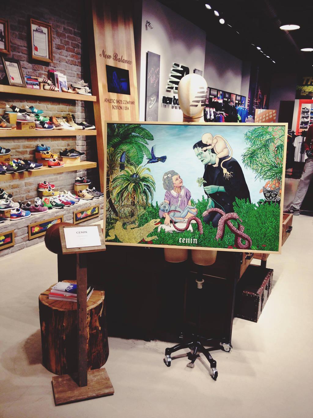 Frankeden in New Balance shop at Zorlu Center by selfregion