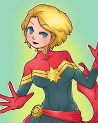Captain Marvel by ImmorticiaKira