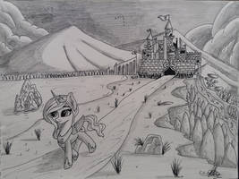 Daily Practice 21/500((zoom in guys :3)scenery) by IronBeastz