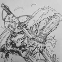 Drifter Toyohisa Shimazu by bangboss45