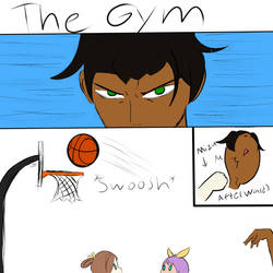 Dominating the Court! by MrHelix