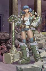 Demolition Girl by billydallaspatton